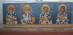 Byzantine Icons, Saints, Movie Posters, Painting, Film Poster, Painting Art, Paintings, Painted Canvas, Billboard