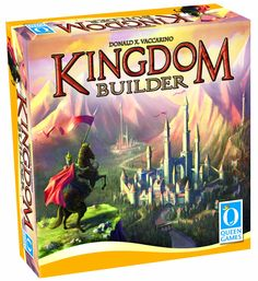 Kingdom Builder - I love how the board and the parameters for scoring are different every time you play!