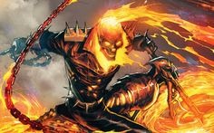 Could Blade, Punisher & Ghost Rider be the next Marvel characters to come to Netflix? Ghost Rider Film, New Ghost Rider, Ghost Rider Marvel, Ghost Hunters, Punisher Marvel, Marvel Comics Art, Marvel Heroes, Marvel Vs, Fanart