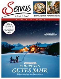 Servus in Stadt & Land - Rezeptdatenbank Magazines, Recipes, Journals