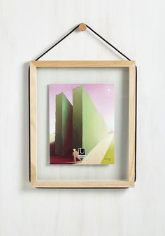 Gallery Originality Photo Frame. Guests will give two thumbs up for your decision to decorate with this wooden picture frame! #multi #modcloth