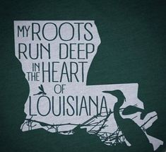 Wear this t-shirt to celebrate your deep Louisiana family roots and let everyone know where you come from! Shop all of our cajun t-shirts! Cajun t-shirts designed and hand printed in Austin, Texas by a true cajun. Louisiana Art, Louisiana Homes, Louisiana Tattoo, Louisiana Gumbo, Louisiana Recipes, Vinyl Shirts, Down South, Silhouette Cameo Projects, Vinyl Crafts