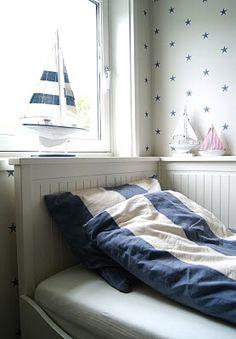 New England style stripes, nautical