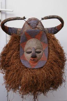 Yaka / Nkanu mukanda mask from the border region D.R.Congo / Angola