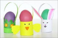 Toilet Paper Roll Easter Craft - Baskets - Easy Peasy And Fun Toilet Paper Roll Easter Craft - Baskets - Easy Peasy and Fun craft rolls - Wood Crafts Toilet Roll Craft, Toilet Paper Roll Crafts, Paper Crafts, Wood Crafts, Horse Crafts, Easter Art, Bunny Crafts, Easter Crafts For Kids, Egg Carton Crafts