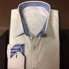 J. HILBURN Custom Shirt Fitting.and design. You pick fabrics, style, stitching, cuffs, collar.  Catherinepierce.jhilburn.com
