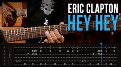 Eric Clapton - Hey Hey (como tocar - aula de violão)
