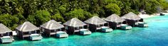 Combining traditional Thai hospitality with a stunning Maldives location, The Dusit Thani Maldives creates the perfect environment for a lux. Maldives Tourism, Maldives Holidays, Holiday Destinations, Ocean, Vacation, Country, Outdoor Decor, Luxury Resorts