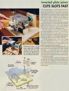 #3115 Biscuit Joiner Table - Joinery