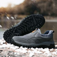Men Outdoor Waterproof Slip Resistant Warm Lined Slip On Hiking Shoes is fashionable and cheap, buy best sneakers for plantar fasciitis for family-NewChic. Best Sneakers, All Black Sneakers, Satchel Bag, Crossbody Bags, Backpack Essentials, Sneakers For Plantar Fasciitis, Adventure Gifts, Tips Fitness