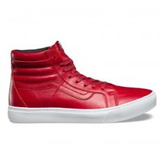 Leather Sk8-Hi Cup ( 115) ❤ liked on Polyvore featuring men s fashion cd3f059f3