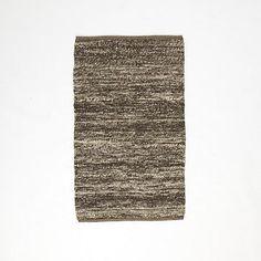 Sweater Wool Rug - Charcoal #westelm