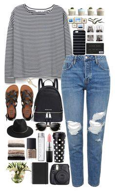 """Cute Outfit"" by irenadjordjevicc on Polyvore featuring MANGO, Topshop, Michael Kors, Billabong, Kate Spade, MAC Cosmetics, BeckSöndergaard, Fuji, NARS Cosmetics and Nordstrom"