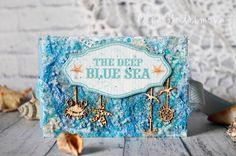 Мини альбомчик -Глубокое синее море - Творческий блог Бутримовой Ольги