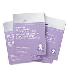 ANEW Firming Sheet Mask with Royal Jelly Essence (4 pack) #AvonRep at http://cbrenda007.avonrepresentative.com
