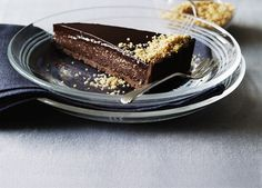Triple chocolate praline tart recipe - 9Kitchen