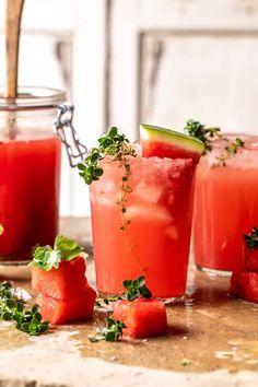 Pink Vodka Watermelon Lemonade - Half Baked Harvest Spiked Watermelon, Watermelon Lemonade, Pineapple Juice, Pink Vodka, Vodka Mixes, Body Cleanse Diet, Vodka Lemonade, Most Delicious Recipe, Half Baked Harvest
