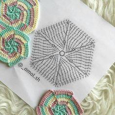 Luty Artes Crochet: crochê com gráficos