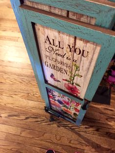 """All You Need Is A Flower Garden""/Cracker Barrel Old Country Store"