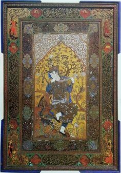 مرقع سوخت اثر میرزا آقا امامی