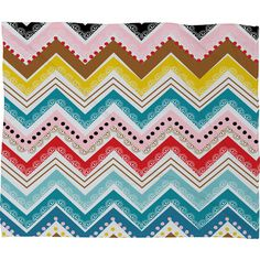Khristian A Howell Nolita Chevrons Throw Blanket Size: Medium ($73) ❤ liked on Polyvore featuring home, bed & bath, bedding, blankets, chevron blanket, chevron throw, chevron bedding, zigzag bedding and chevron throw blanket