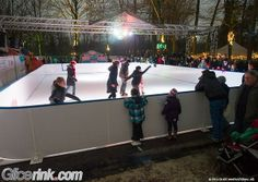 Synthetic ice rink Synthetic Ice Rink, Ice Skating, Skate, Innovation, Wrestling, Sports, Lucha Libre, Hs Sports, Skating