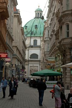 Peterskirche, Vienna by stephengg, via Flickr