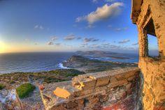 View from Torre del Falcone toward Isola Piana and Asinara Sardegna   #TuscanyAgriturismoGiratola