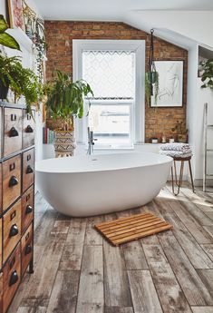 Real home: this bathroom sanctuary is a grown-up space to relax in Gorgeous Bathroom, House, Big Bathrooms, Home, Bathroom Styling, Spa Like Bathroom, Bathroom Design, Bathroom Decor, House And Home Magazine