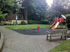 Major Matthews Park - Small playground.  Vancouver, BC.  Photo by sillygwailo via Flickr.