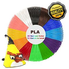 Special Section Victorstar ® 3d Pen Filaments Refills For 3d Pen 22 Colors Complete In Specifications 2 Bags