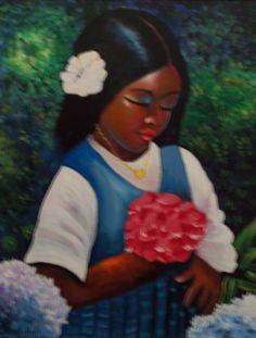 Amazing Snaps: 30 Beautiful Snaps of Haitian Art Haitian Tattoo, Haitian Art, Caribbean Art, Beauty In Art, Painting Tattoo, 10 Picture, Afro Art, Beautiful Artwork, African Art