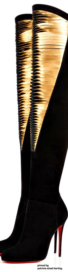 Christian Louboutin Ankle Boots, Heeled Boots, Bootie Boots, Sexy Boots, Black Boots, Mode Shoes, Christian Louboutin Women, Sexy High Heels, Luxury Shoes