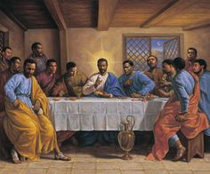 The Last Supper by Sarah Jenkins   The Black Art Depot
