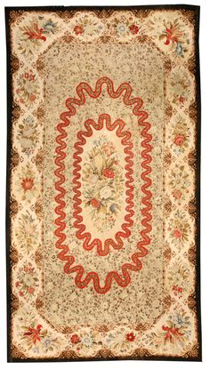 A European Antique Rug. Perfect choice for traditional interiors as well as for a modern interior design. The carpet is of a very good quality Price: $80,000