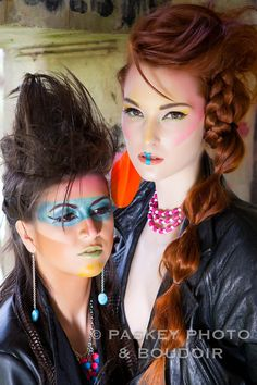 Photograph neon makeup by Tamara  Paskey  on 500px