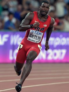 2015 World Track and Field Championships Usain Bolt Photos, Justin Gatlin, Lycra Men, Daily Burn, Athletic Events, Sports Celebrities, Usa Olympics, Fastest Man, Dynamic Poses
