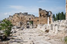 Visit ancient city of #Hierapolis on our guided tour from #Fethiye #HIsaronu #Oludeniz