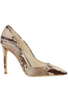 Louis Vuitton Snakeskin Pumps Cruise Accessories 2014 #LV #Shoes #Heels