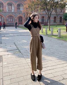 Korean Girl Fashion, Ulzzang Fashion, Korea Fashion, Japanese Fashion, Cute Fashion, Asian Fashion, Look Fashion, Retro Fashion, Winter Fashion