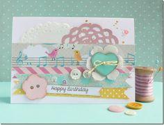 Anna Draicchio, cafe creativo: sizzix big shot - card - wrapping - buttons