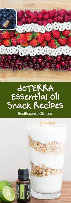 The 25 Best doTERRA Essential Oil Party Snack and Appetizer Recipes