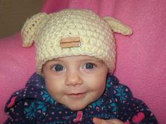 Dog Puppy Bunny Hat Child Newborn Baby Toddler by AlbsmeyerRoad