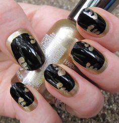 cute and simple nail art