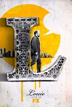 Louie by Ozan Karakoç. The letter L. Great palette too.