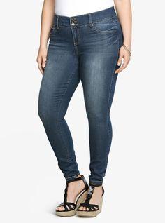 57f95365f78 Torrid Jegging - Medium Wash (Tall). Plus Size Skinny JeansPlus ...