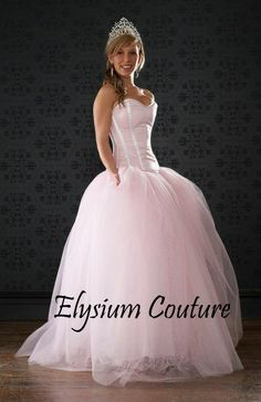 Fairytale prom dress. Prom gown Made to order