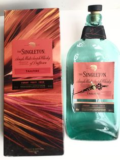The Singleton Tailfire of Dufftown single malt Scotch whisky bottle clock by causewaybay on Etsy
