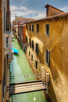 View from Palazzo Loredan - Venice, Italy