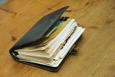 Filofax - these were a massive craze at one point - everyone had one - not just the wealthy. I even remember watching a Blue Peter episode on how to make one!